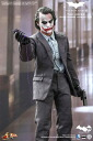 HOTTOYS hot toys movie masterpiece Dark Knight Joker (bank robber /2.0 version) 1 / 6 scale figure