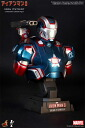 HOTTOYS hot toys bust [Iron Man 3' iron Patriot 1 / 4 scale bust