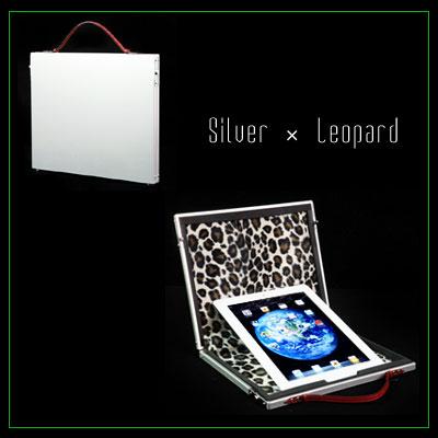 【PROTEX】ブリーフケース/iPadケースJean( ジーン)シルバー