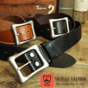 スクエアバックルプレーンタイプ leather belt 3 COLORS ST10-013 Tochigi leather leather leather BELT belt mens Womens unisex unisex fs3gm