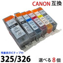 Colors to choose from BCI326 325 for 8 pieces set brand new canon Canon compatible ink level display IC chip with (BCI of BCI 326BK, 326C 326M 326Y 326GY 325PGBK) PIXUS MG8230 8130 6230 compatible generic ink