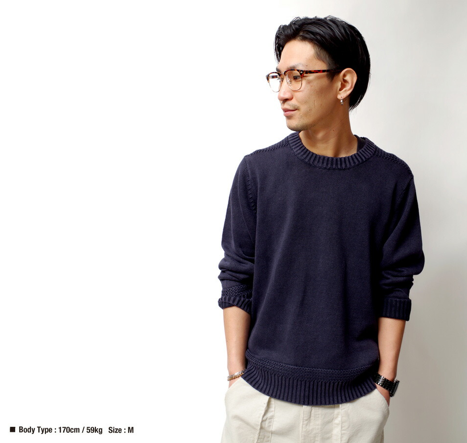 サマーニット/ニット/コットンニット/綿麻/快適/軽量/春夏/メンズ