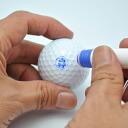 Stamp gift set to push to a made-to-order golf ball