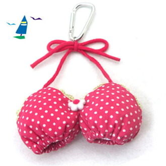 【可爱好笑 bra】高爾夫小球包・高爾夫配件包・小球袋・小掛包 / Golf ball holder (兩個球)