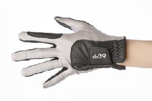 FIT39(フィット39) ゴルフグローブ グレー/黒 左手用・右手用
