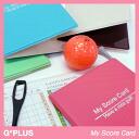 지프 테라스 My Score Card 점수 카드 홀더 [골프 잡화] [골프 공모전 공짜 경품] [골프 용품 선물 선물] [공모전 시상 상품 총무] [골프 용품 생일] [선물 증정]