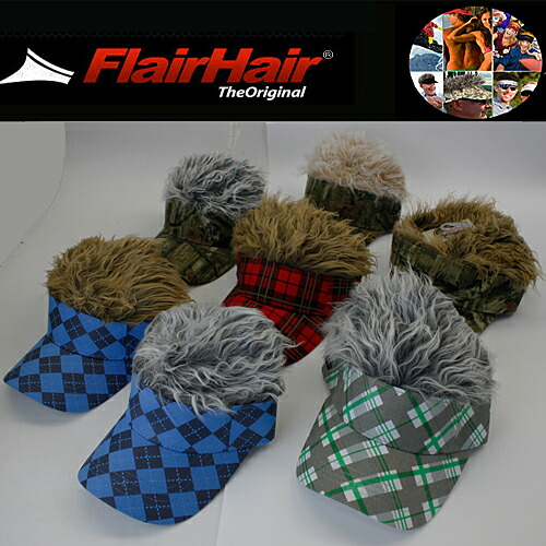 �ڿ��ǥ�����ۥե쥢���إ����Х�������FLAIR HAIR VISOR��US��ǥ�