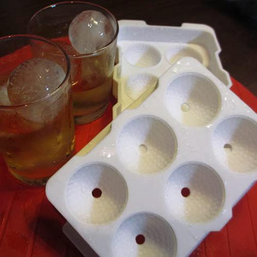 ゴルフボール型の氷ができる ゴルフボール 製氷皿