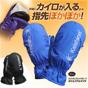 Glove (both hands use) polyester taffeta kaishion-02 for protection against the cold to contain chi Sion Kaishion Cairo