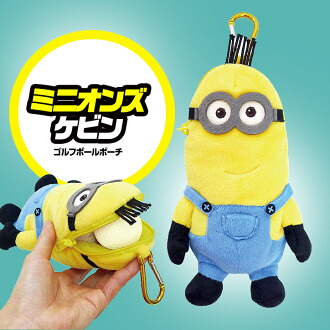 【小小兵/小黄人,凱文】高爾夫小球包・配件包・小球袋・小掛包/Minions Kevin Golf Ball Holder/Pouch