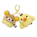 RILAKKUMA & KIIROITORI (RILAKKUMA series) Golf Ball Holder (Pouch, Holds Up To 2 Balls)