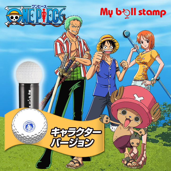 ONE PIECE GOLF�ʥ��ԡ����� ����饯�������꡼�����ޥ��ܡ��륹����ס��ҥ��ꥹ�����