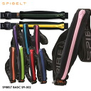Excellent fit waist pouch SPIBELT BASIC (basic スパイベルト) color Zip SPI-002 fs3gm