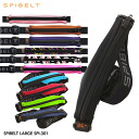 High capacity large SPIBELT LARGE (スパイベルト large) black Zip SPI-301