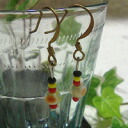 Taiwan indigenous Dragonfly jade earrings