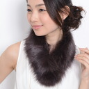 5 Colors fox fur scarf