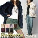 Fox wild fur jacket