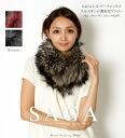 SAGA silver fox natural fur muffler saga fur