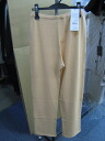 Italy brand cotton and viscose pants bottoms beige