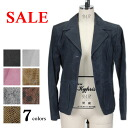 All 12 color translation and pig suede leather jacket tailored print pattern