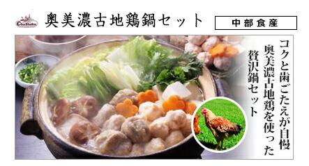 中部食産 奥美濃古地鶏鍋セット