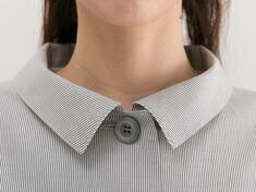 衿、ボタン 画像