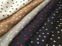 Mini-Japan-made rayon cotton 80 loans random dots dots 6 color P