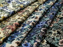 Japan-made cotton 20 stretch floral 5 P