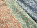 Japan-made cotton 60 クリスタルローン Paisley (yellow, pink, green, blue) P fs3gm