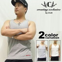 S complete set of 3» CLH (creating exclusive by CLH) tank top / 3 piece set (2 colors) [4CE-01TP].
