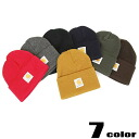 CARHARTT( car heart) knit cap / lapel (seven colors of )[A18])