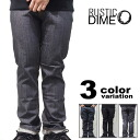 RUSTIC DIME (rustic dime) slim fit denim Pant simple (16 colors) [12RD-210-215].