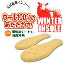 Feet cold weather insoles wool 100% deodorizing insulation ウインターインソール Columbus