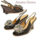 Atomic Green Atomic green Sandals sale corsages with wedge Sandals «wedge sole» ladies sandal leather