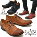 Cool edgy トゥスプリング becomes Oxford Shoes leather plain toe shoes lace shoes mens RAUDI Rudi * orders after 2-4 days after the delivery.