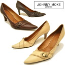 JOHNNY MOKE Johnny make leather pointy toe pumps ladies pumps leather