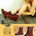 Hall of Fame masterpiece! 10 Hole boots [Cherry Red] (women's shoes) Dr.Martens Martens ladies