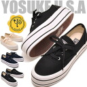 Thickness bottom sneakers studded stone combicolors YOSUKE U.S.A ( Yosuke shoes) ladies sneaker punk