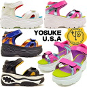 YOSUKE U.S.A ヨースケ thickness bottom サンダルプラットフォームスケッチャーズファン is unmissable, too! KERA platform sandals lady's Harajuku fashion in the spring and summer