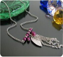 ★ auktn is only it more than 5,000 yen such as 0087 (stock limited big special price sale) necklace ★ Lady's accessories necklace pierced earrings nature stone four circle wedding ceremony dress party special time sale power stones