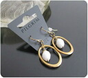 It is ★ _auktn02P19Mar14 more than 5,000 yen such as 0186 pierced earrings ★ Lady's accessories necklace pierced earrings nature stone four circle wedding ceremony dress party special time sale power stones