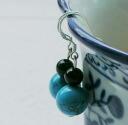 Turquoise earrings earrings 0304 _auktn02P01Nov14 ★ ★ ladiesaxesalinecklace earrings natural stone formal wedding ドレスパーティータイムセールパワース tone, 5,000 yen or more just
