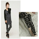 It is ★ _auktn_50off02P05Apr14M more than 5,000 yen of one piece tunic leggings wedding ceremony dress parties in spring latest 0276 leggings ★ Lady's of the star (star)