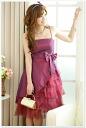 It is ★ auktn_50off(fa0712AR)Tfs3gm02P30Nov13 more than 5,000 yen of dress tunic leggings wedding ceremony dress parties in spring latest 0334 gorgeous purple ☆ premium dress one piece ★ sleeve Lady's