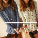 Giraffe pattern two-color tunic 0443 (50% off or more) ★ Womens spring new ワンピースチュニックレギンス wedding dress party, more than 5000 Yen ★ _auktn_50off02P28oct13.