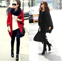 It is ★ auktn02P27Jan14 more than 5,000 yen of one piece tunic leggings wedding ceremony dress parties in spring latest 0570 poncho-like knit cardigan ★ Lady's of the dolman sleeve