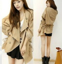It is ★ auktn only fs3gm more than 5,000 yen of one piece tunic leggings wedding ceremony dress parties in spring latest more than trench coat 0584(50%OFF of the brown) ★ Lady's