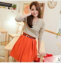 It is ★ auktnfs3gm02P30Nov13 more than 5,000 yen such as one piece tunic leggings wedding ceremony dress party long sleeves in spring latest knit tunic and 0614 one piece ★ Lady's of two colors of skirts
