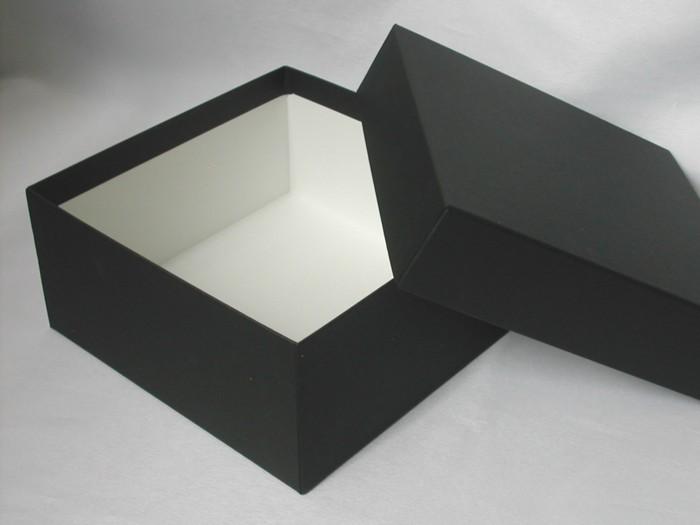 シックながらも上品なギフトボックスです ブラック)【プレゼント用箱 四角い箱】ラッピング...