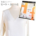 Soft salmon seven minutes length shirt sin1566 where shirt heat positive fitting in Japanese dress is warm